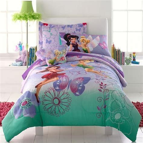 fairy comforter tinkerbelle bedding is cute for fairies my pins
