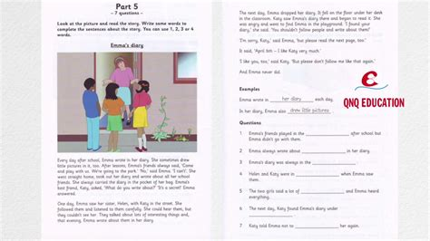 Essay About Reading And Writing by Flyers 3 Test 1 Reading And Writing