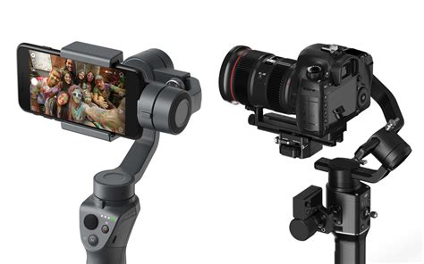 Dji Osmo Second dji reveals new osmo mobile 2 and ronin s gimbal
