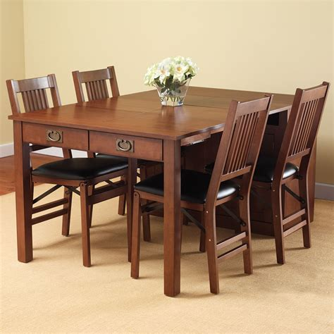 expanding dining table the expanding dining table hutch hammacher schlemmer