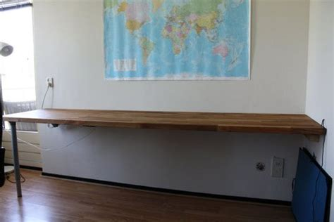 Diy Wall Mounted Desk The World S Catalog Of Ideas