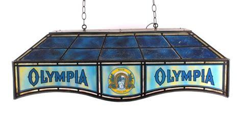 olympia pool table light olympia billiard light