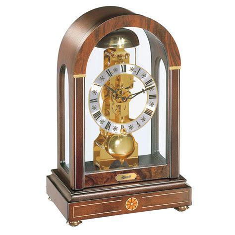 hermle kaminuhr hermle stratford mechanical mantel clock walnut strike