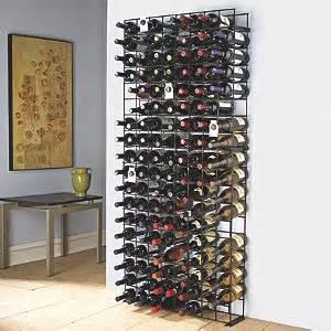 lade con bottiglie 144 bottle black tie grid wine enthusiast