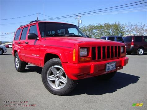 2000 jeep classic 2000 jeep cherokee classic in flame red 234961 all