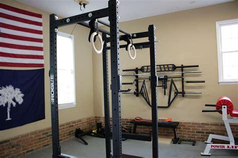 rogue  power rack review garage gym lab