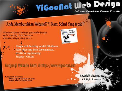 desain brosur web dhafiq sagara desain brosur dan poster vigoonat web