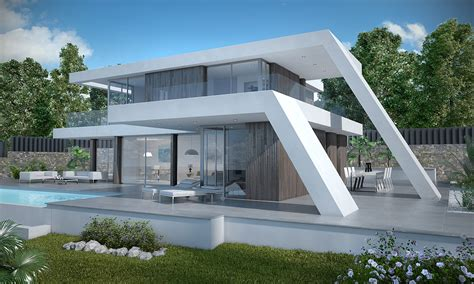 the modern house modern house javea modern house