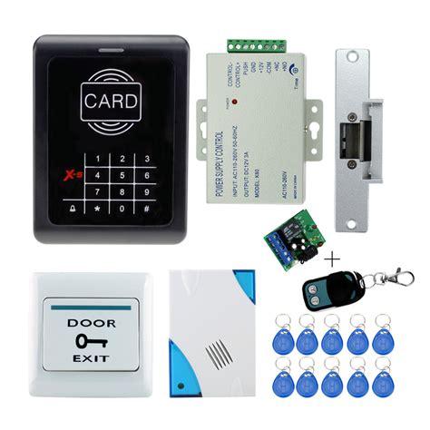 rfid door door fingerprint and rfid card door access system kits door lock power supply