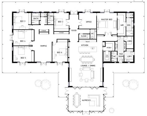 six bedroom house plans inspirational best 25 6 bedroom