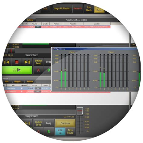 Multi Player Audio audified sceneflow express multi player audio software