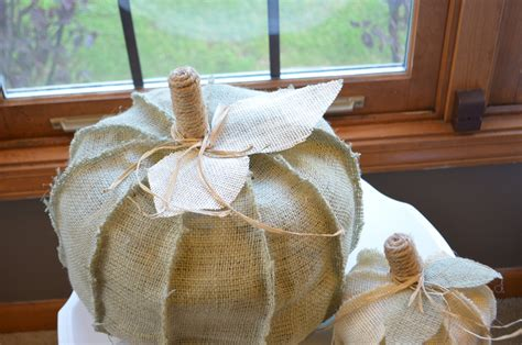 burlap fall decorations shabby chic fall decor burlap pumpkins set of by