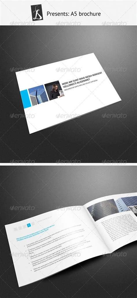 graphicriver brochure template brochure templates graphicriver a5 brochure 3 graphicflux