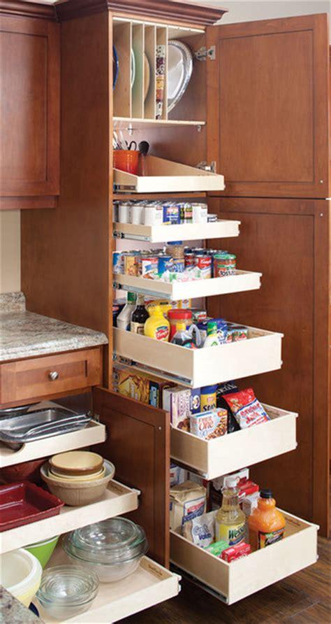 inside kitchen cabinet storage pantry by shelfgenie national