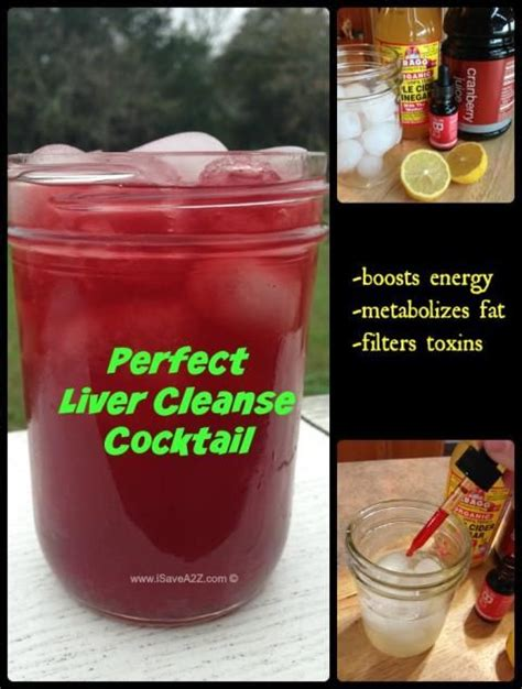 Doing A Lier Detox And Thirsty by Liver Cleanse Cocktail With An Energy Booster