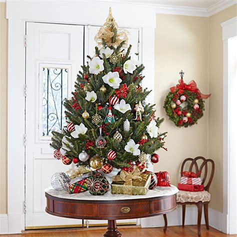 google holiday living mini christmas trees tree decorating ideas