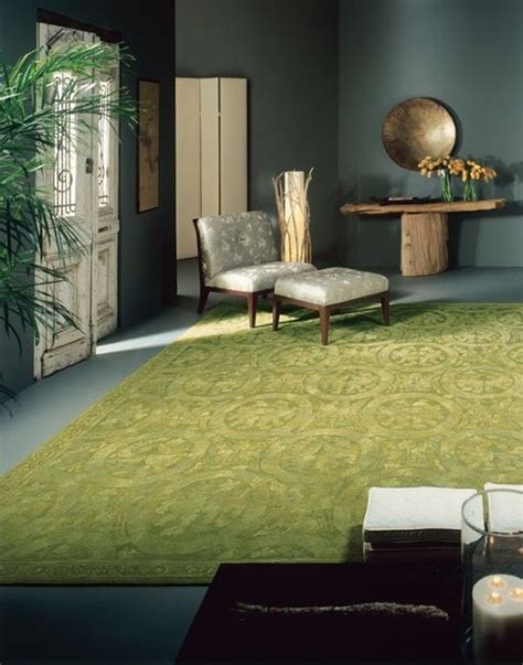 Yellow Walls Green Carpet 14 Gorgeous Rooms How To Decorate With Green And Green Rugs