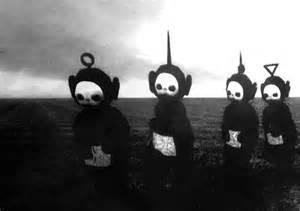 vision d horreur les t 233 l 233 tubbies en noir et blanc