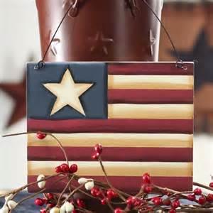 Americana Home Decor Catalogs Primitive Americana Wood Flag Signs Amp Ornaments Home Decor