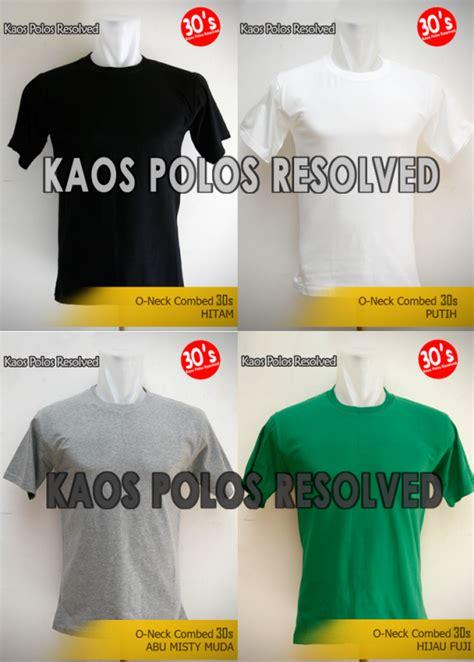 Size M Grosir Kaos Polos Cotton Combed 3 Kode Tr5942 1 jual promo kaos polos cotton combed 30s lokal size eceran