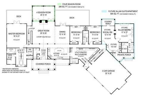 apartments in law house home plans with inlaw suite in