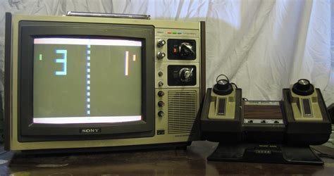 atari pong console pong dusty consoles