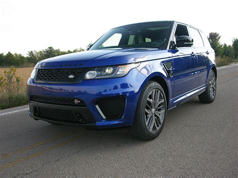 range rover best suv the range rover sport svr it may just be the best suv