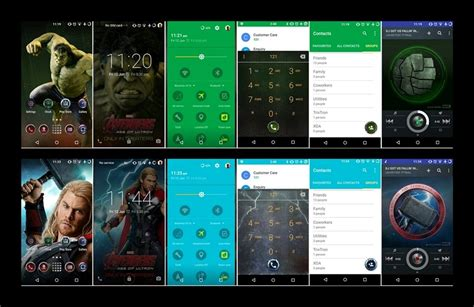 android apps themes engine cm theme engine gets galaxy s6 marvel avenger theme ported