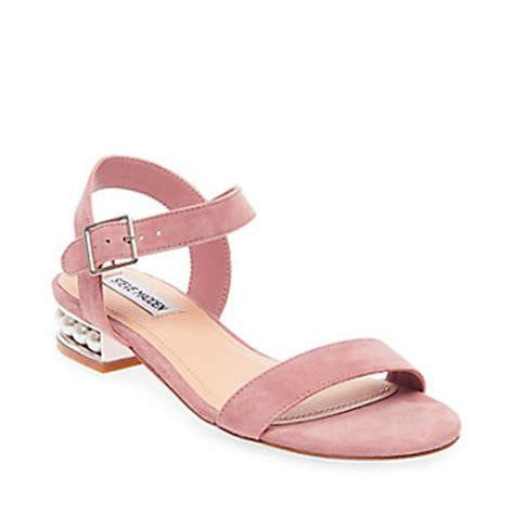 Steve Madden Pearl jeweled sandals studded heels pearl sandals steve madden