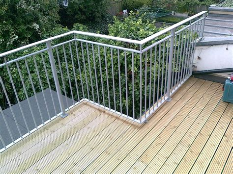 Wrought Iron Handrails Uk Roof Terrace Railings Quality Assured By Kp Engineering