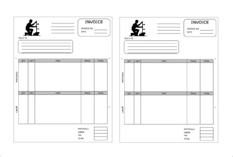 receipt template with logo 4 plumbing receipt templates doc pdf free premium