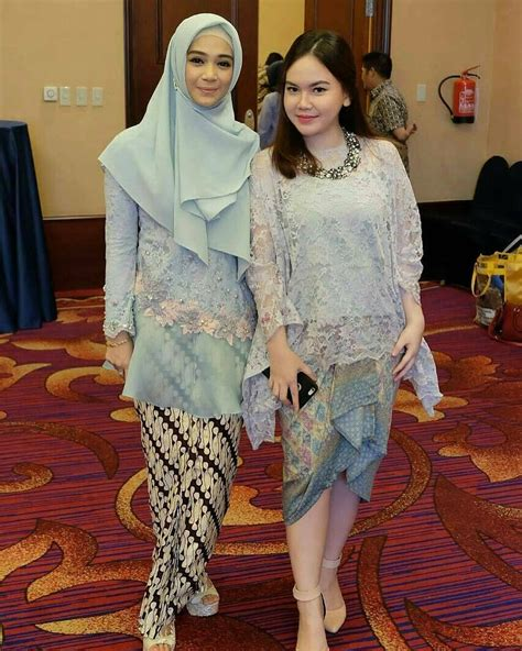 model kebaya batik modern simple hijab muslim
