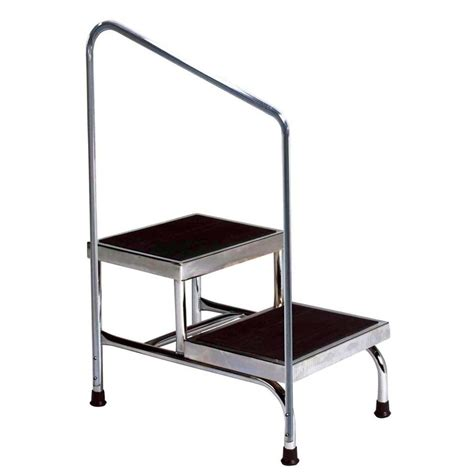 Two Step Stool For two step stool with rail colonialmedical