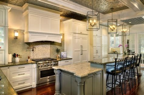 kitchens two tier kitchen island designs collection with