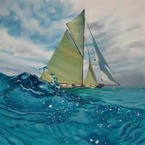 Renault Painter Amazing Water Paintings By Antoine Renault