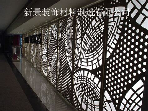 decorative metal screen panels