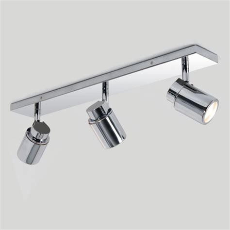 Bathroom Ceiling Spotlight Bar 3 Adjustable Spotlights Bathroom Spot Lighting