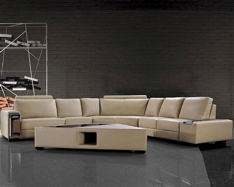 beige leather sofa set 4pc beige leather sectional sofa set 44l0646hl