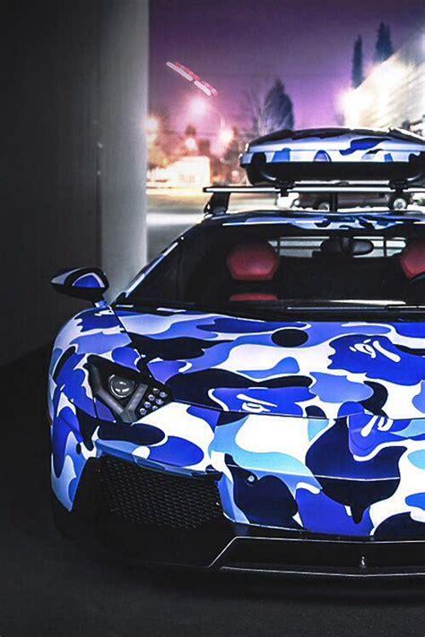 Blue Camo Lamborghini Blue Camo Lamborghini Cars Trucks Rods