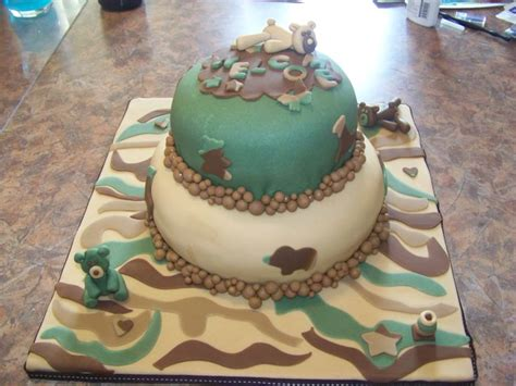 Camouflage Baby Shower Cakes by Camouflage Baby Shower Cake Baby Shower Ideas For Both Boy And Camouflage
