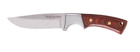 winchester buck knife winchester small fixed blade knife wood handle 22 41340