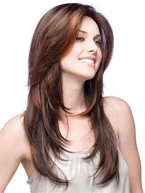what type of hair cut for long skinny face 25 best feathered hairstyles long hairstyles 2015 hair