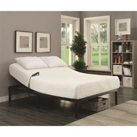 coaster stanhope adjustable bed base twin extra long