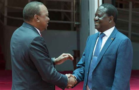 Is Devistated by Devastated City Tycoon Mulling Next Move Uhuru Raila