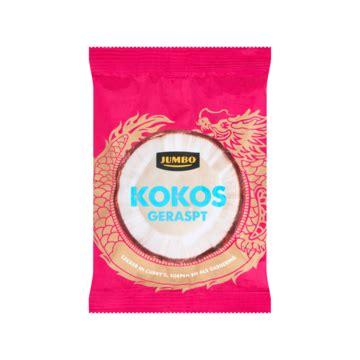 Jumbo Koko by Jumbo Kokos Geraspt 100g Product En Prijs Jumbo Kokos