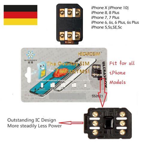 rsim 12 2018 r sim nano entsperren karte f 252 r iphone xr xs maxx 8 7 6 ios 12 11 ebay