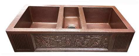 sink that sits on top of counter copper kitchen bowl vessel sink 40 quot 42 quot 44 quot sits on