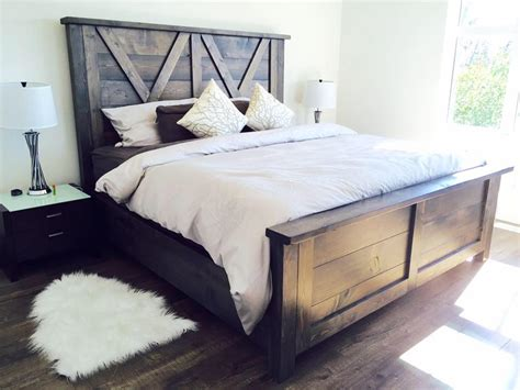 barn door bed barn door farmhouse bed pine main