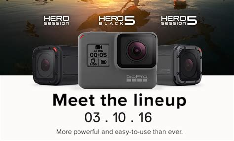 Gopro 5 Black Malaysia gopro hero5 cameras to be available in malaysia on 3 october price starts at rm 1 399 lowyat net