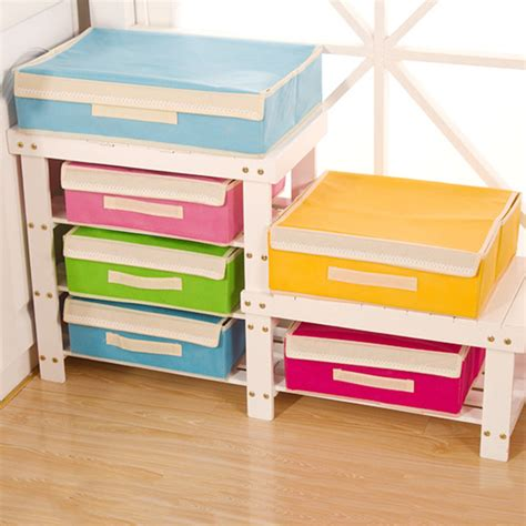 Sock Dividers For Drawers by Foldable Sock Organizer Storage Box Divider